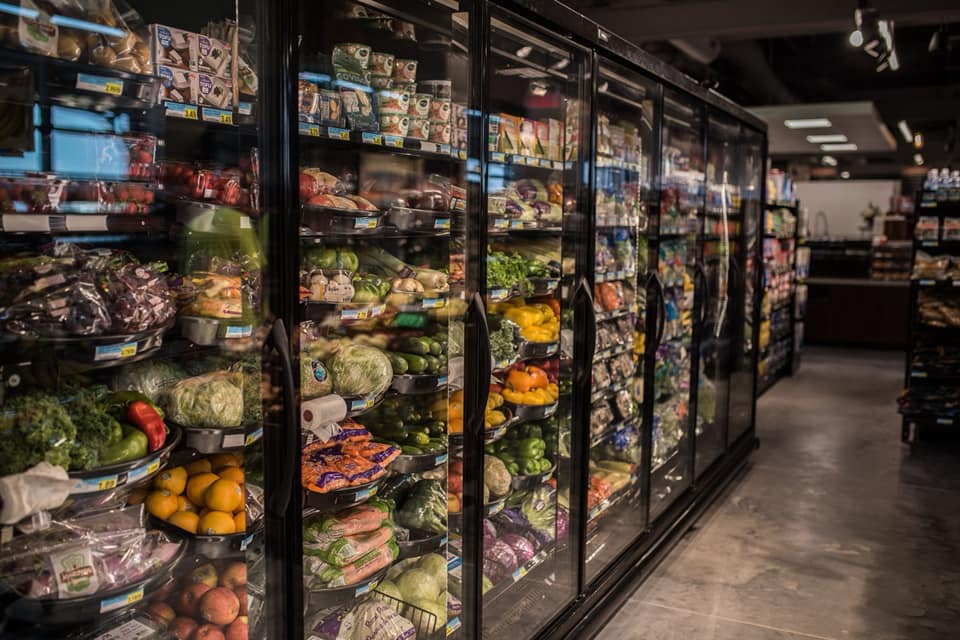 Photo of produce section